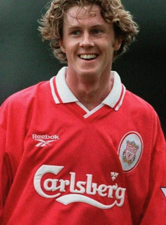 Jersey Retro Futbol Liverpool 1996 Local L - Steve McManaman