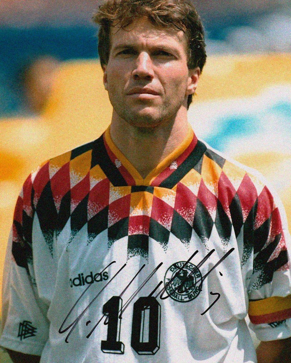 Jersey Retro Futbol Alemania 1994 Local L - Lothar Matthäus