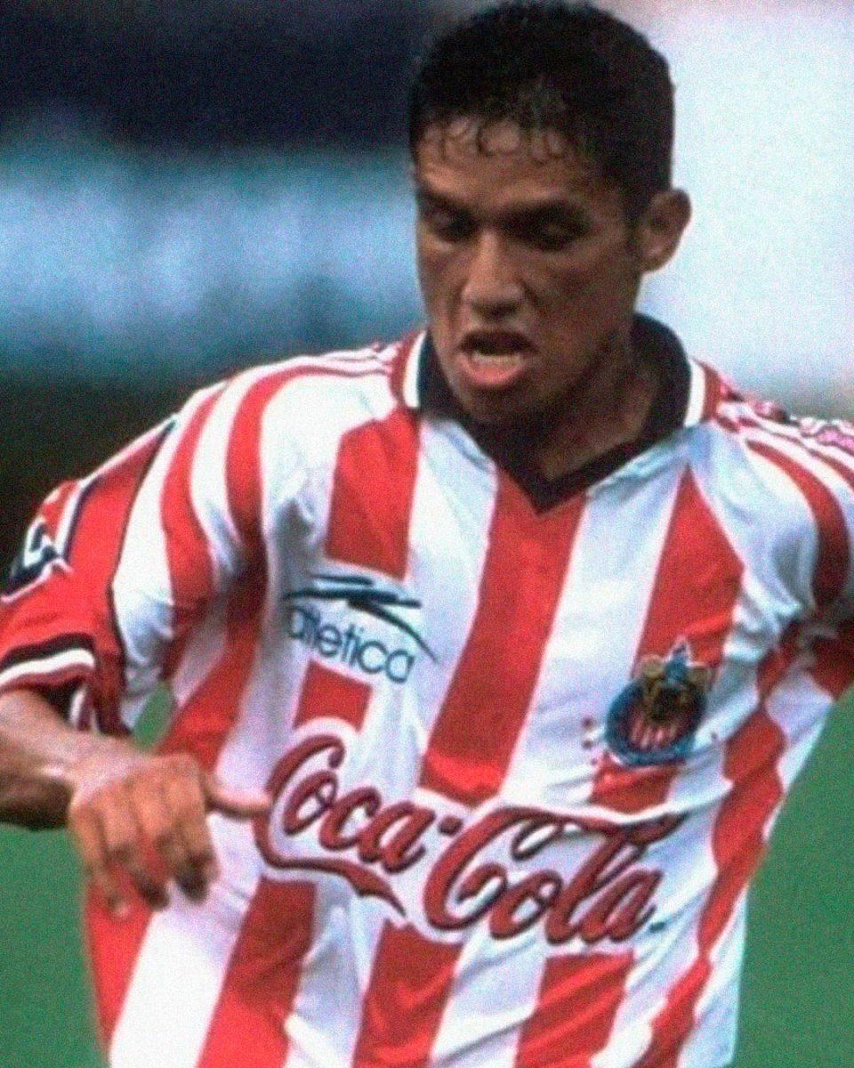 Jersey Retro Futbol Chivas 1998 Local XL - Jesús Arellano