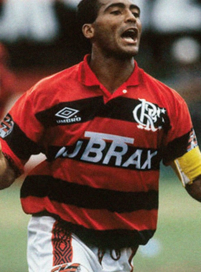 Jersey Retro Futbol Flamengo 1996 Local M - Romario