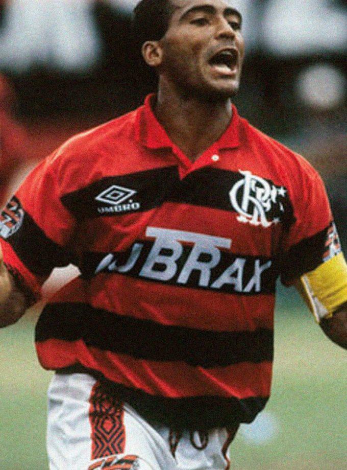 Jersey Retro Futbol Flamengo 1996 Local M - Romario