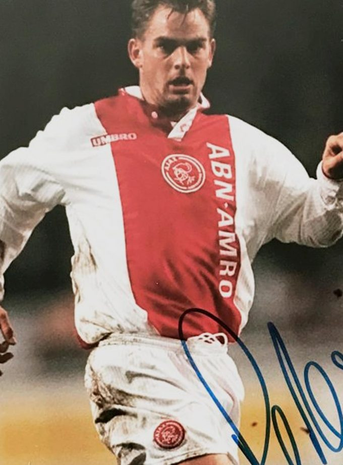 Jersey Retro Futbol Ajax 1997 Local XL - Ronald de Boer