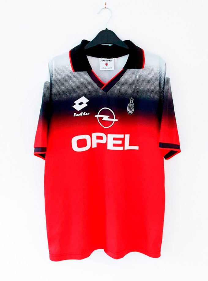 Jersey Retro Futbol AC Milan 1995 Local L