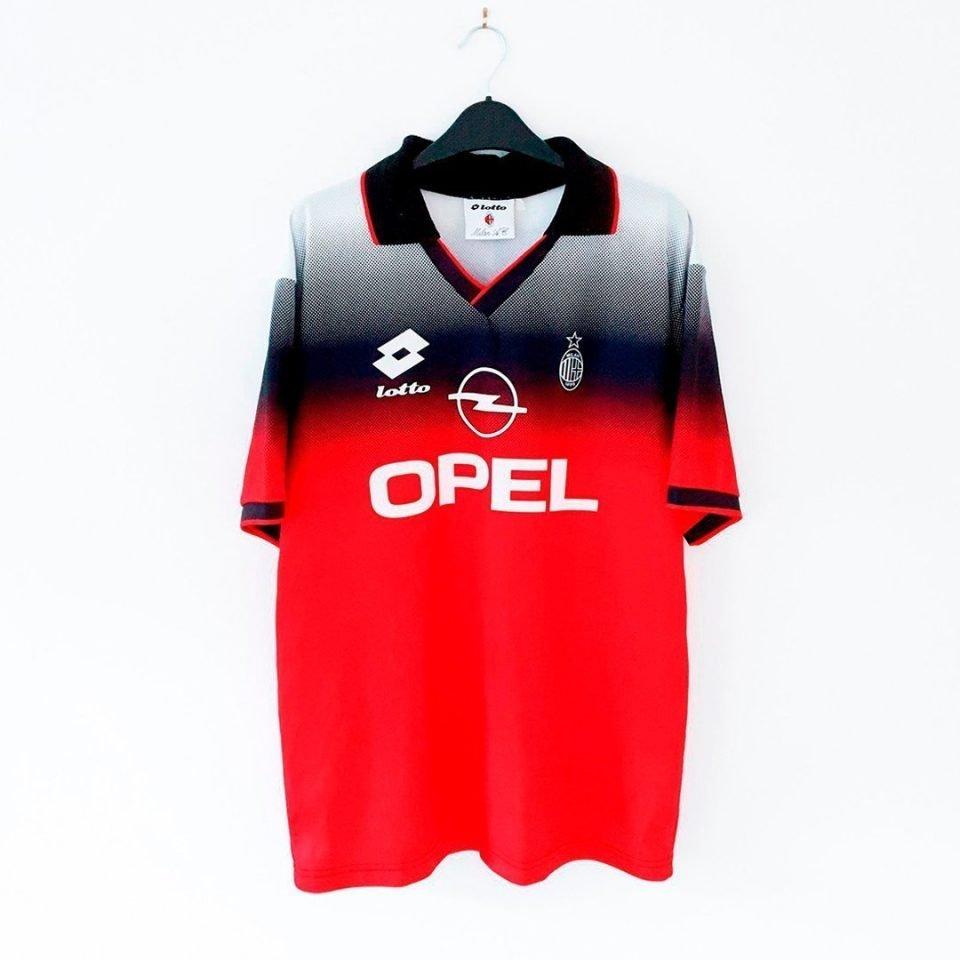 Jersey Retro Futbol AC Milan 1995 Local L