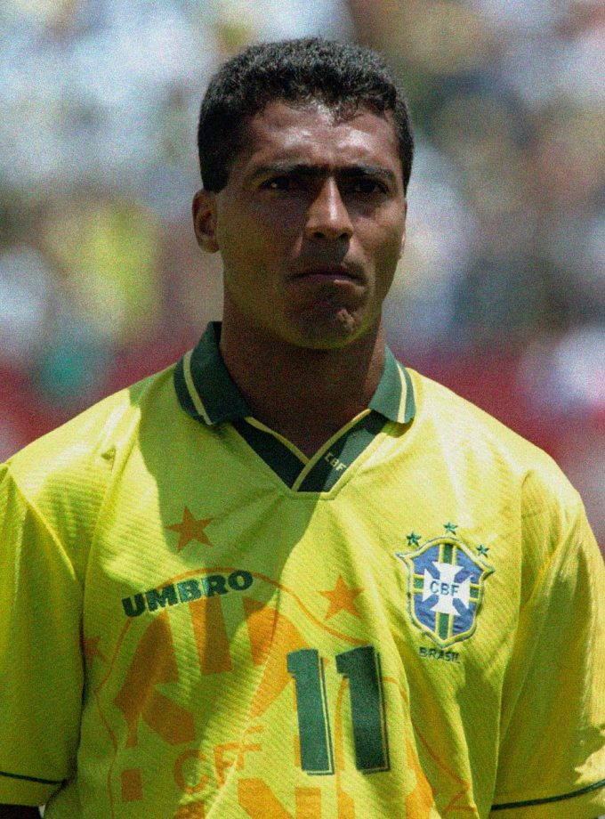 Jersey Retro Futbol Brasil 1994 Local L - Romario