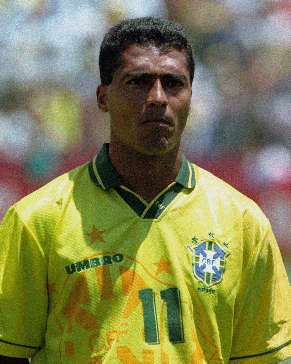 Jersey Retro Futbol Brasil 1994 Local L - Romario