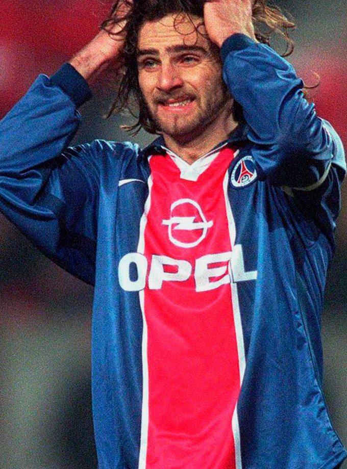 Jersey Retro Futbol PSG 1997 Local L - Marco Simone