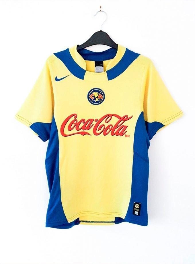Jersey Retro Futbol América 2004 Local S