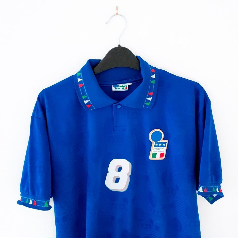 Jersey Retro Futbol Italia 1994 Local L