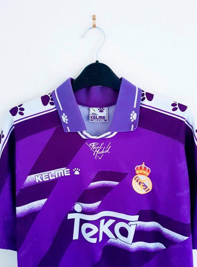 Jersey Retro Futbol Real Madrid 1994 Visitante S