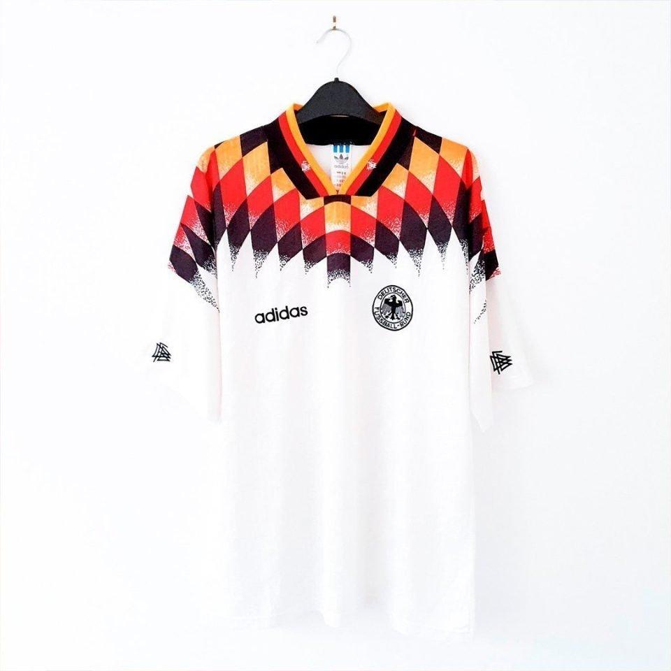 Jersey Retro Futbol Alemania 1994 Local L
