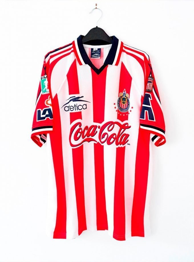 Jersey Retro Futbol Chicas 1998 Local XL