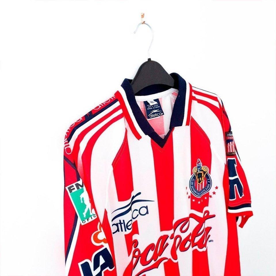 Jersey Retro Futbol Chicas 1998 Local XL