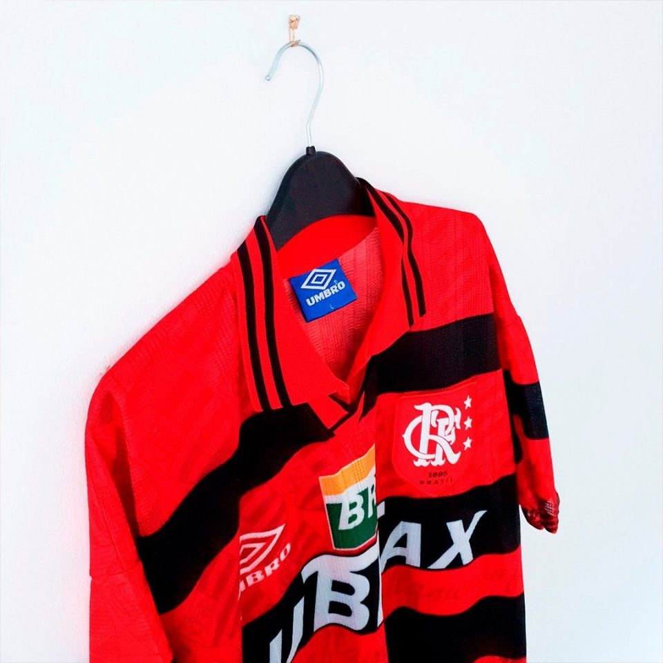 Jersey Retro Futbol Flamengo 1996 Local M