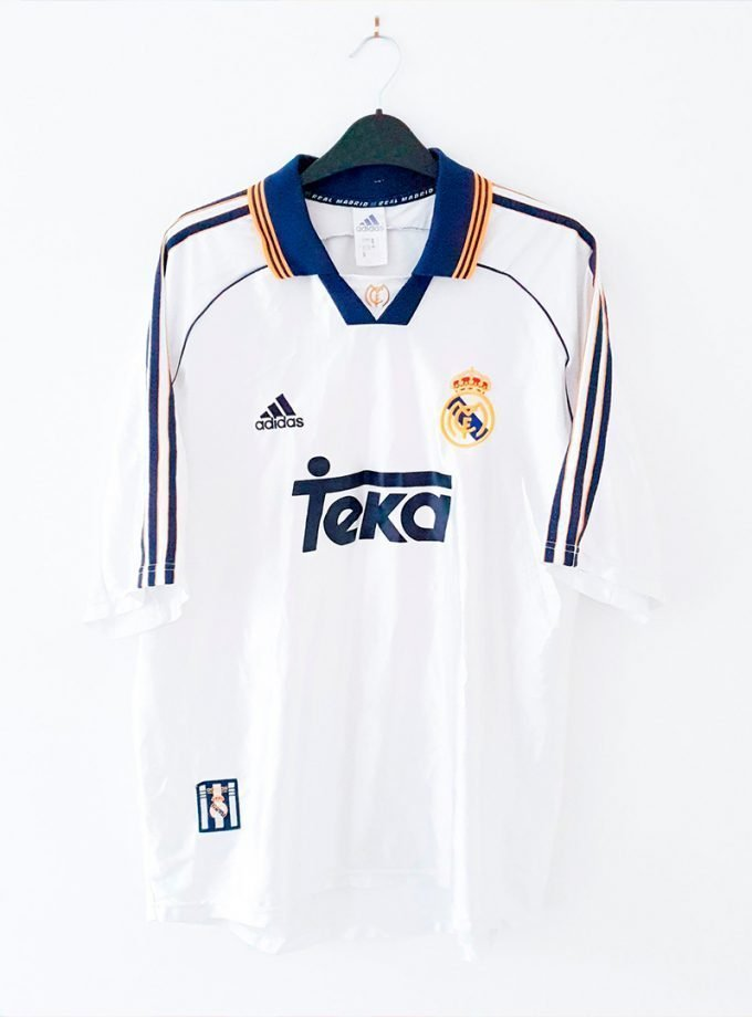 Jersey Retro Futbol Real Madrid 1998 Local L