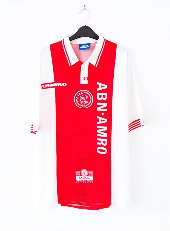 Jersey Retro Futbol Ajax 1997 Local XL