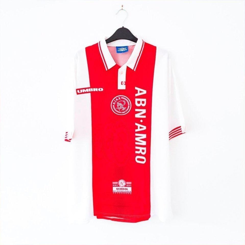 Jersey Retro Futbol Ajax 1997 Local XL