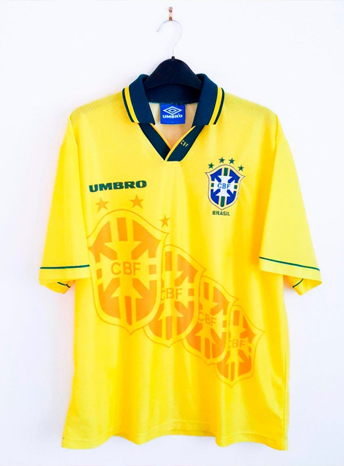 Jersey Retro Futbol Brasil 1994 Local L