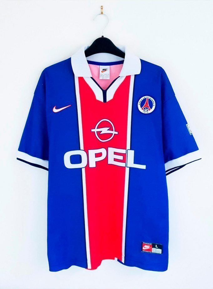 Jersey Retro Futbol PSG 1997 Local L