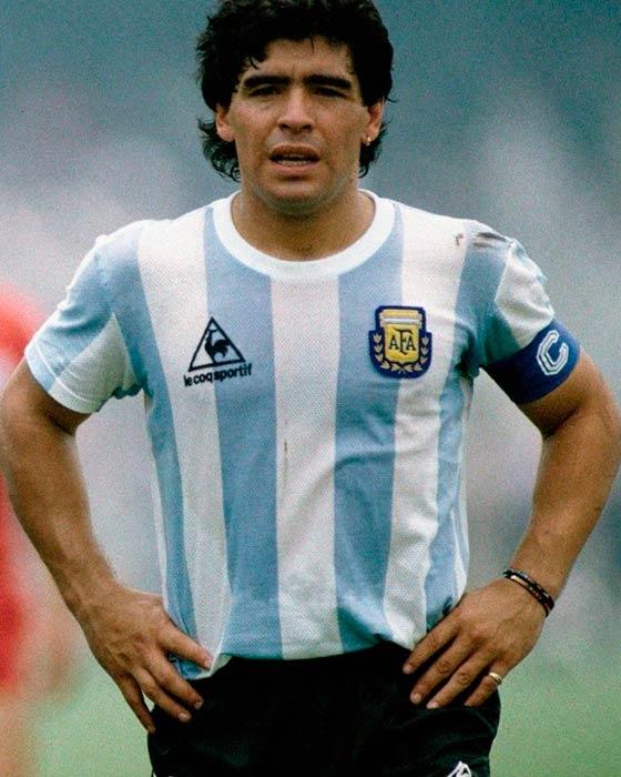 Jersey Retro Futbol Argentina 1986 XL - Maradona