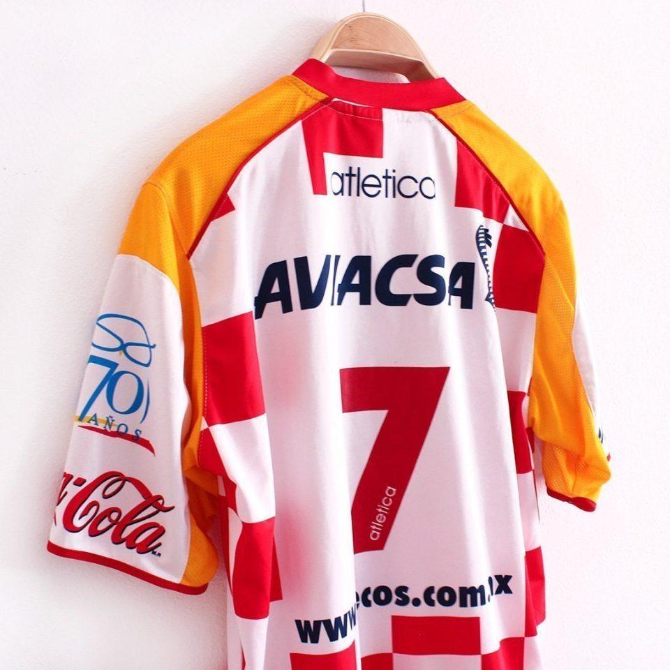 Jersey Retro Futbol Tecos 2005 Local M