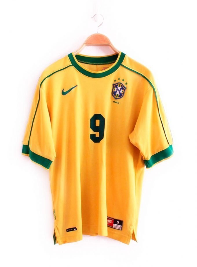 Jersey Retro Futbol Brasil 1998 Local S