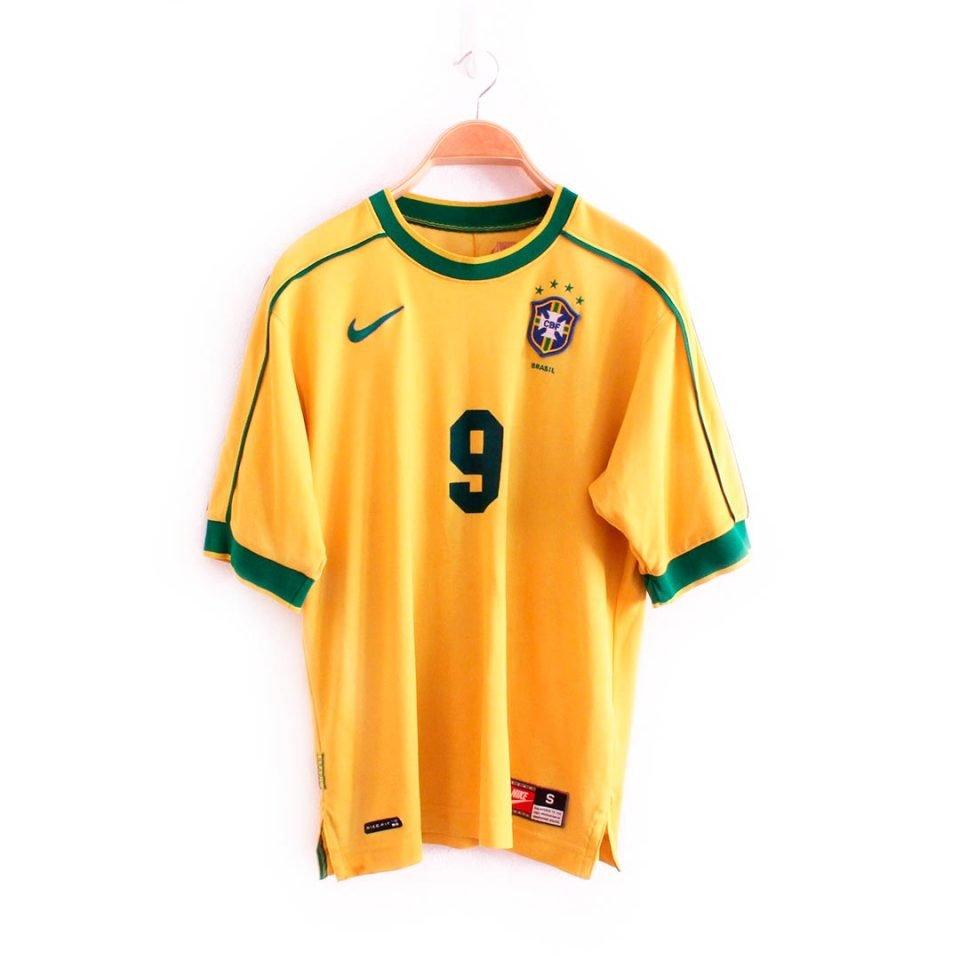 Jersey Retro Futbol Brasil 1998 Local S