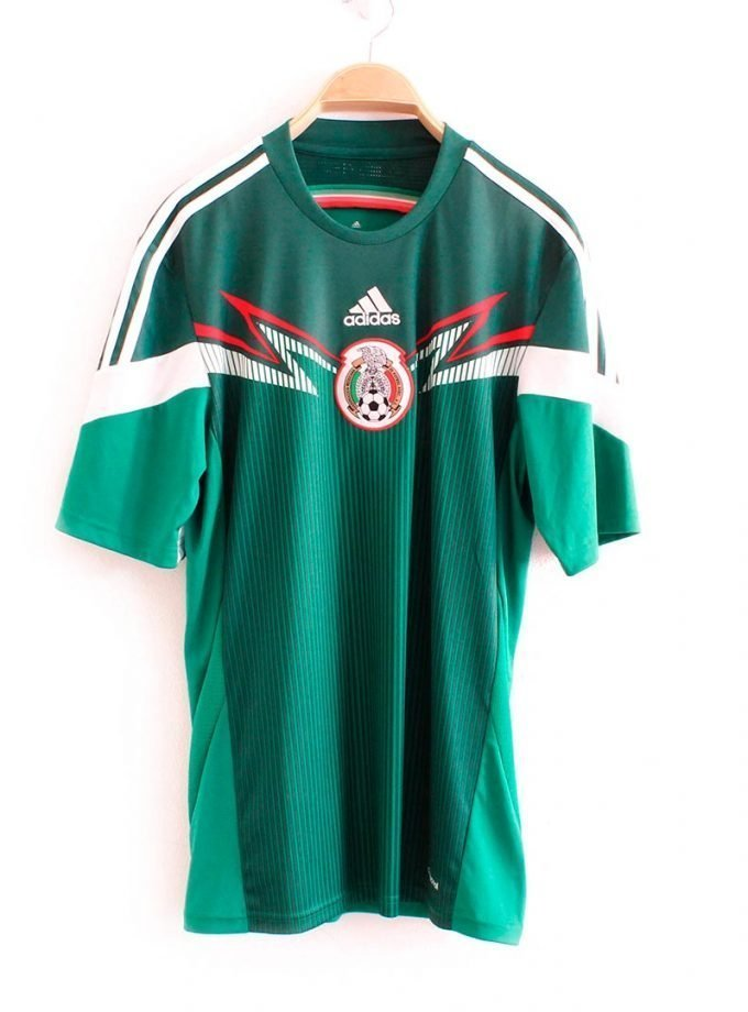 Jersey Retro Futbol México 2014 Local M