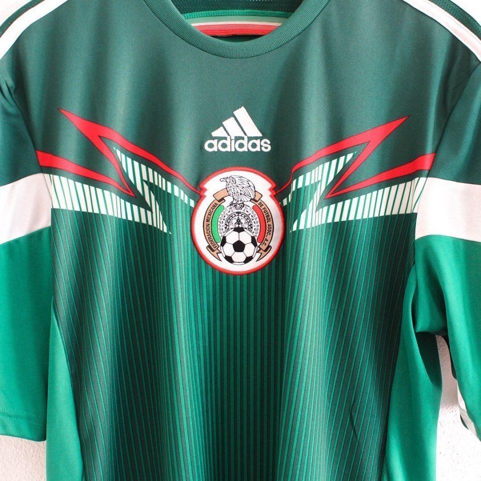 Jersey Retro Futbol México 2014 Local M