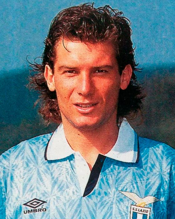 Jersey Retro Futbol Lazio 1991 Local S