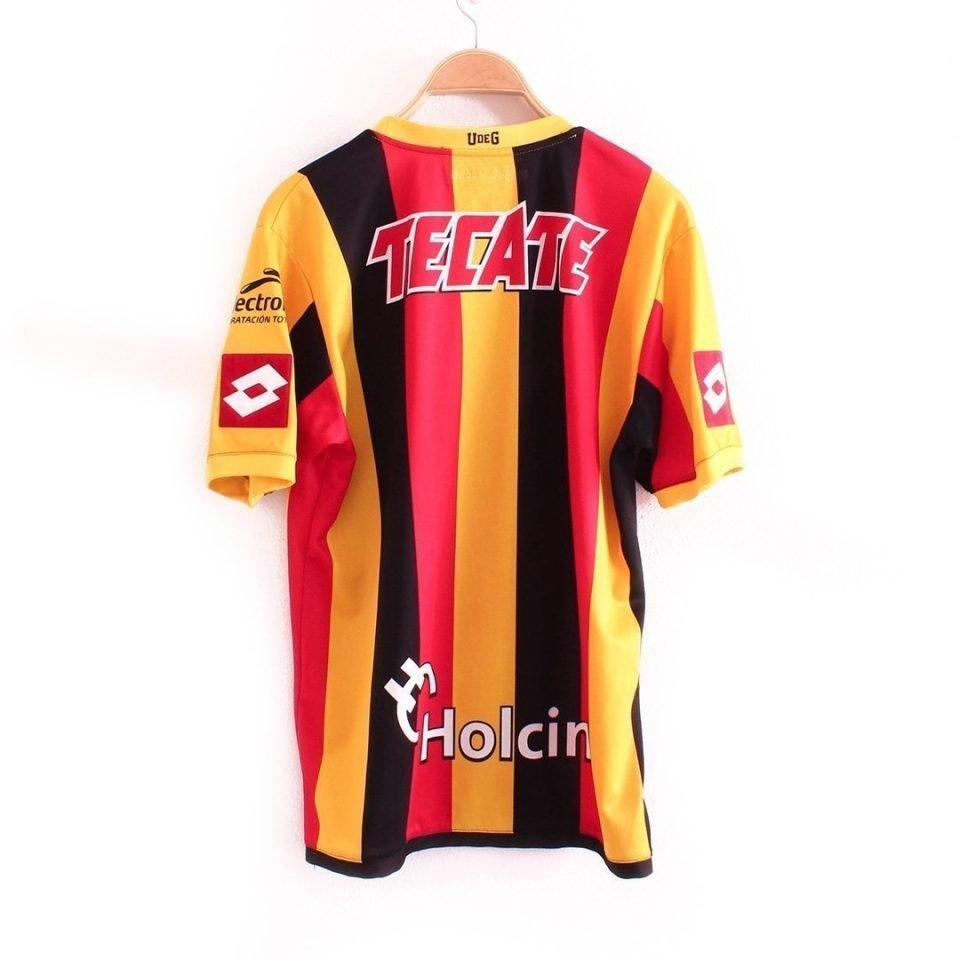Jersey Retro Futbol Leones Negros UDEG 2014 Local M
