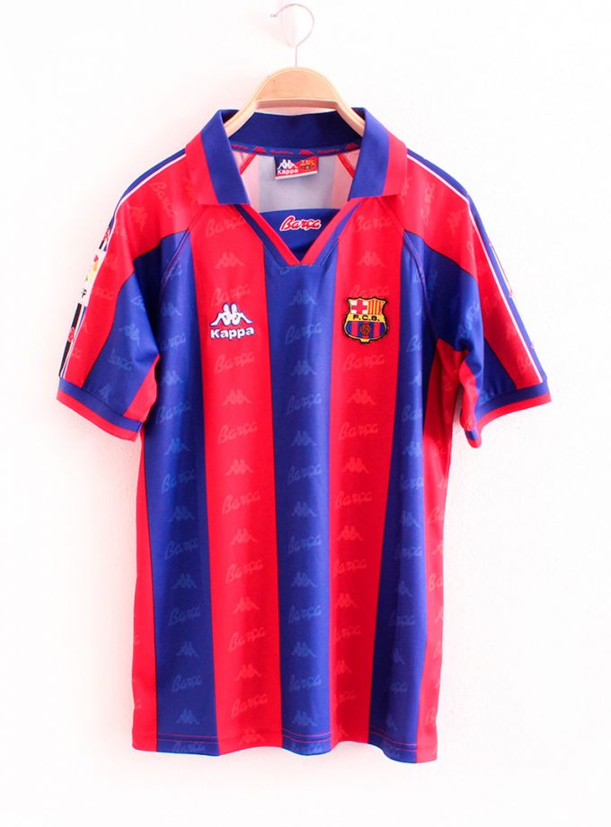 Jersey Retro Futbol Barcelona 1996 Local CH