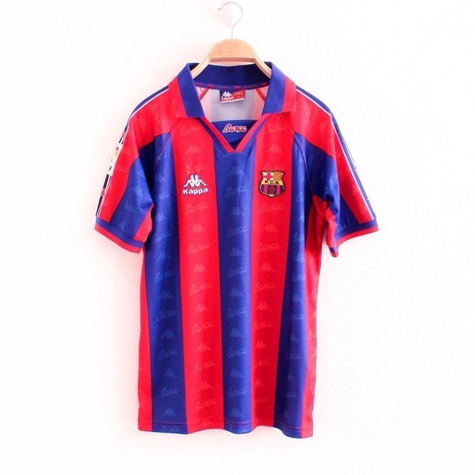 Jersey Retro Futbol Barcelona 1996 Local CH