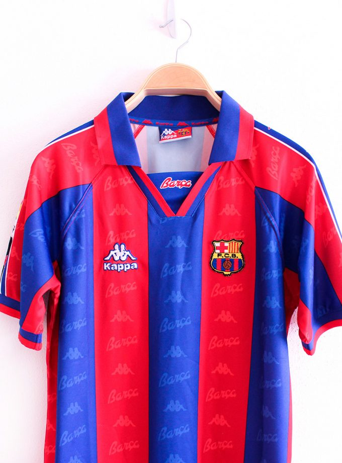 Jersey Retro Futbol Barcelona 1996 Local S
