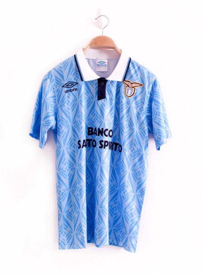 Jersey Retro Futbol Lazio 1991 Local S