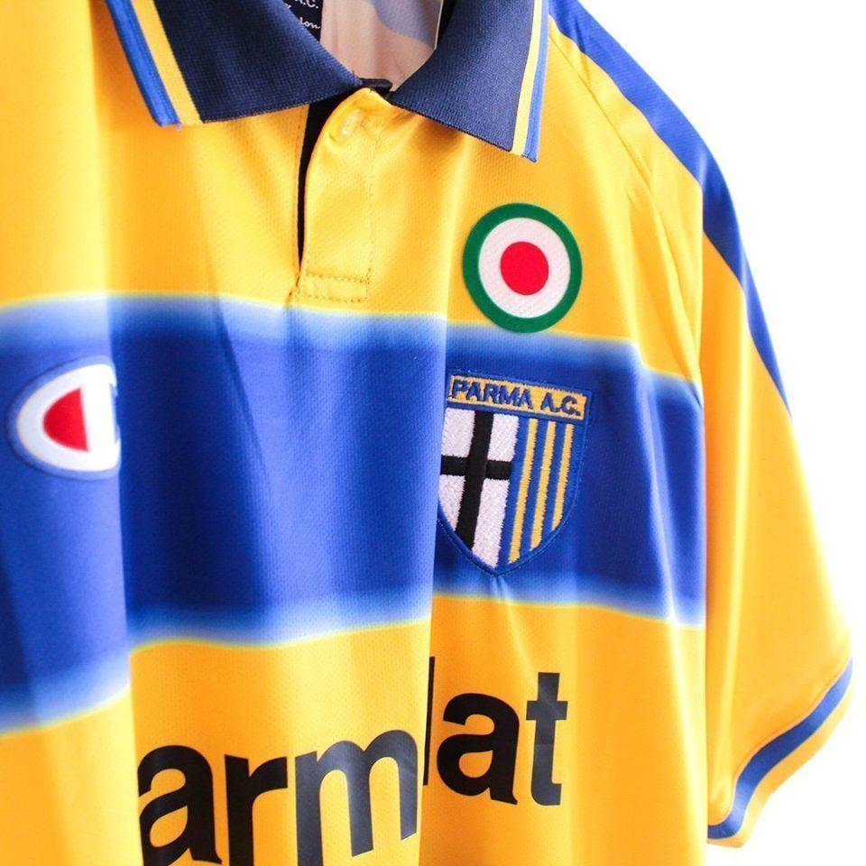 Jersey Retro Futbol Parma 2000 Local M