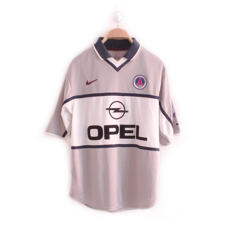 Jersey Retro Futbol PSG 2000 Visitante S