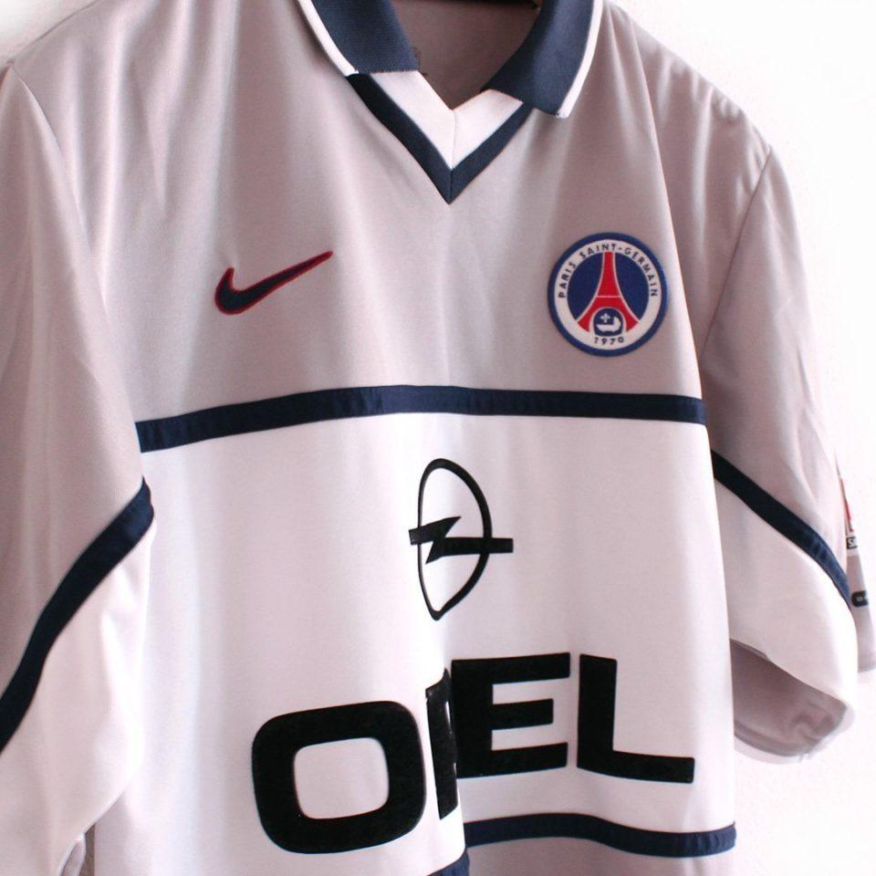 Jersey Retro Futbol PSG 2000 Visitante CH