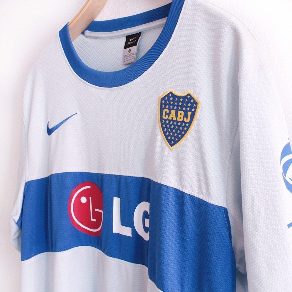 Jersey Retro Futbol Boca Juniors 2010 Local L