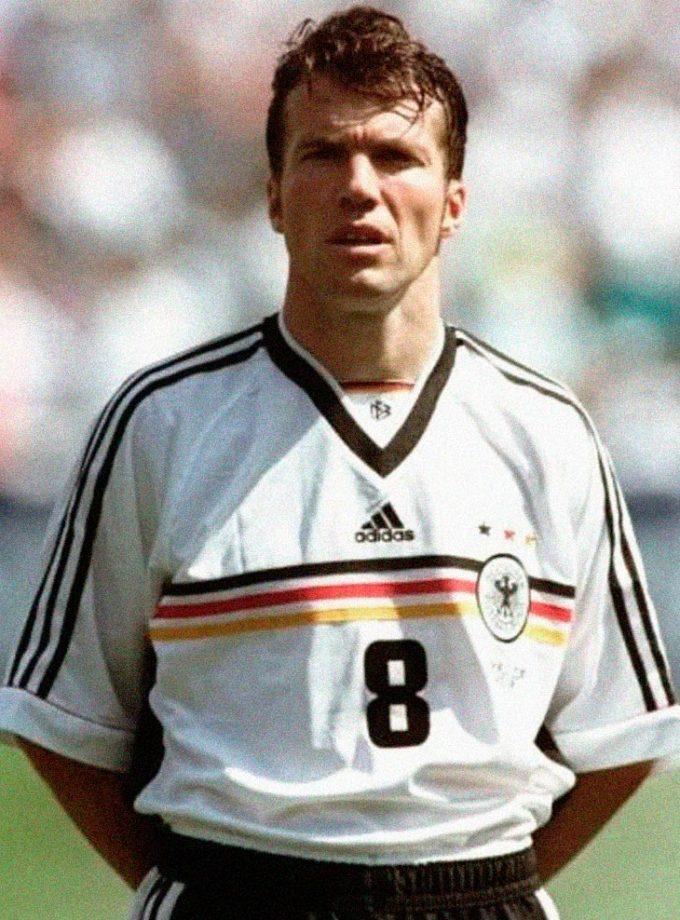 Jersey Retro Futbol Alemania 1998 Local M - Lothar Matthäus