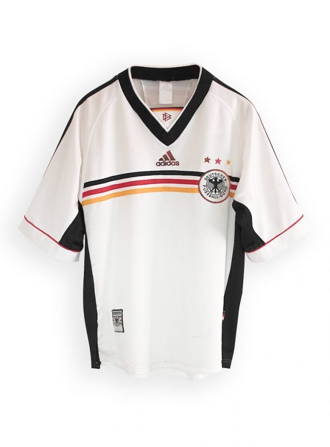 Jersey Retro Futbol Alemania 1998 Local M