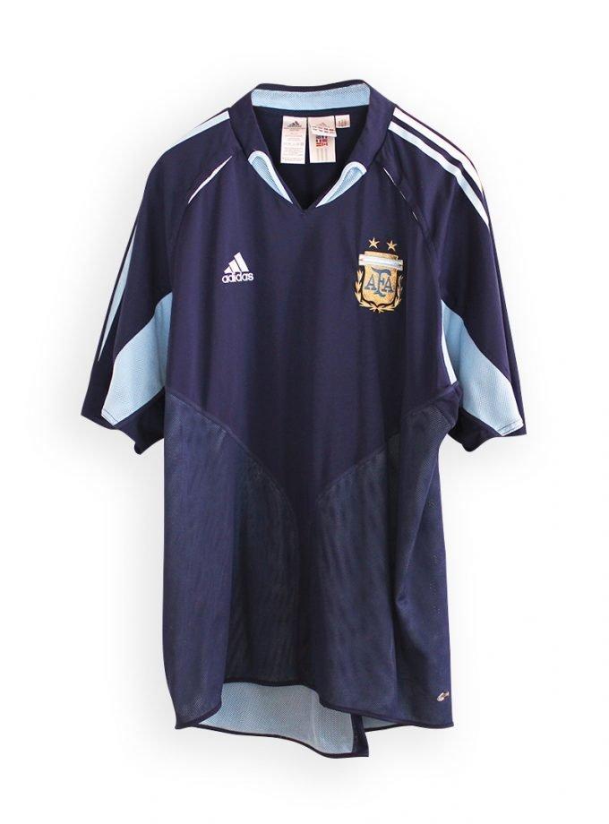 Jersey Retro Futbol Argentina 2004 Visitante XL