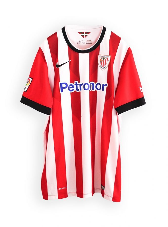 Jersey Retro Futbol Athletic de Bilbao 2014 Local XL