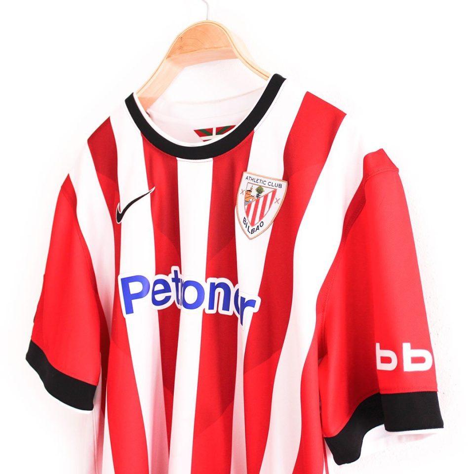 Jersey Retro Futbol Athletic de Bilbao 2014 Local XL