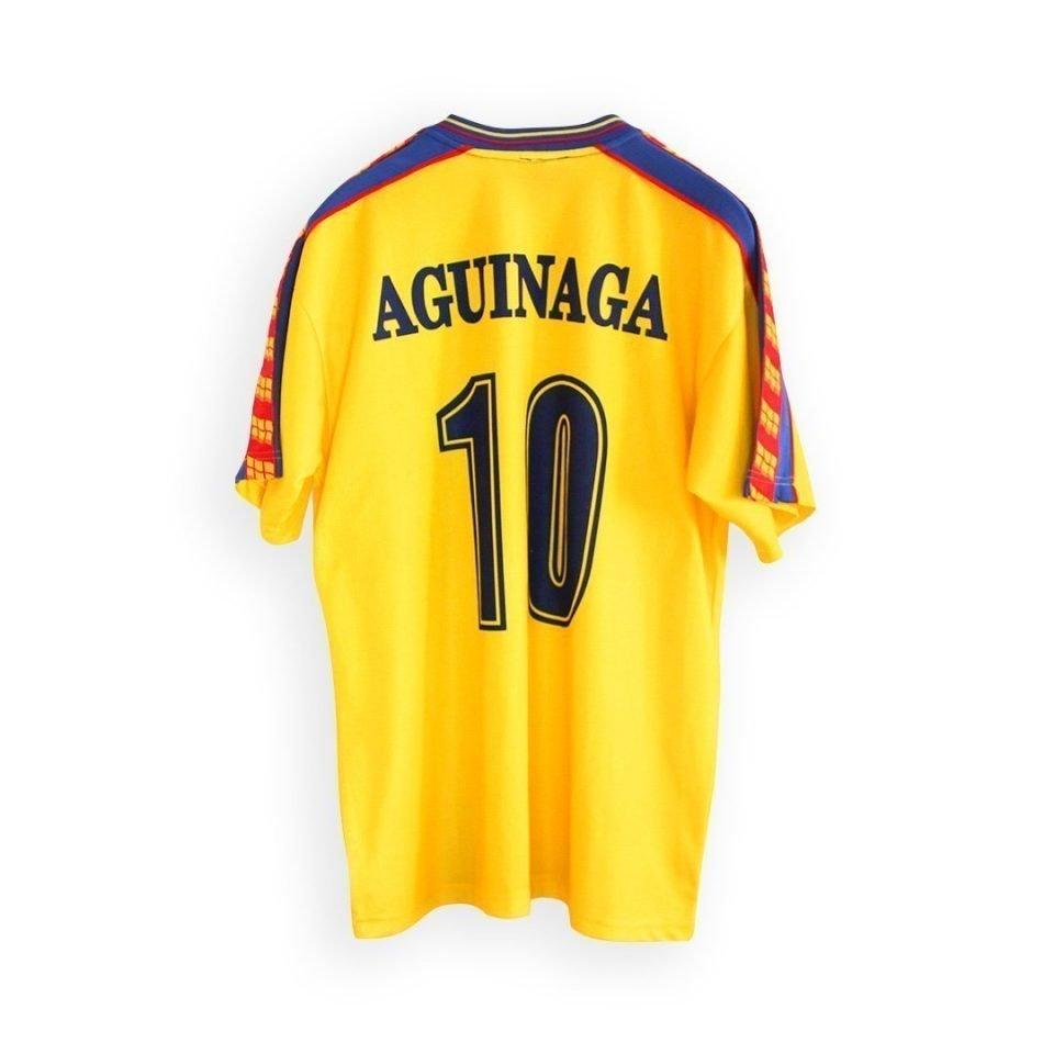 Jersey Retro Futbol Ecuador 1998 Local M