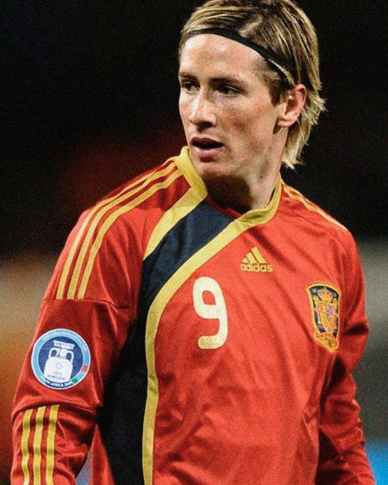 Jersey Retro Futbol España 2009 Local XL - Fernando Torres