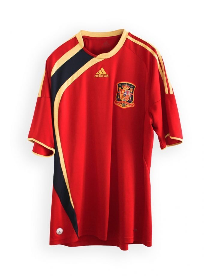 Jersey Retro Futbol España 2009 Local XL