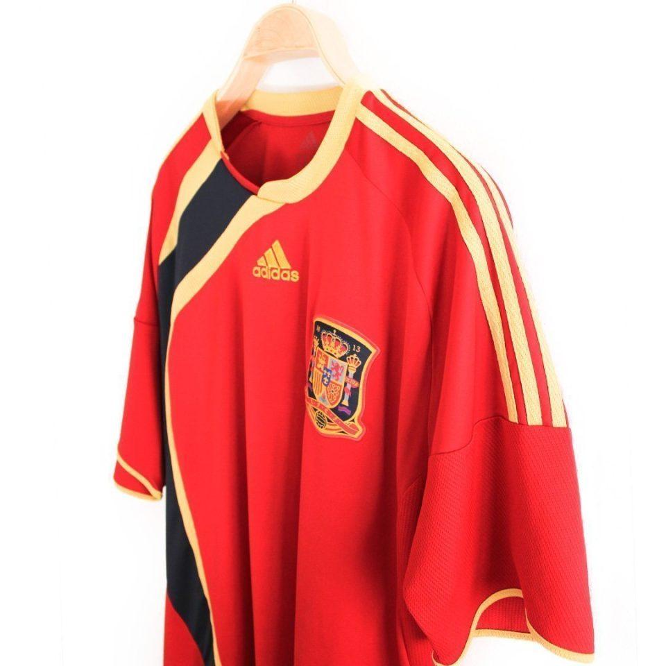 Jersey Retro Futbol España 2009 Local XL
