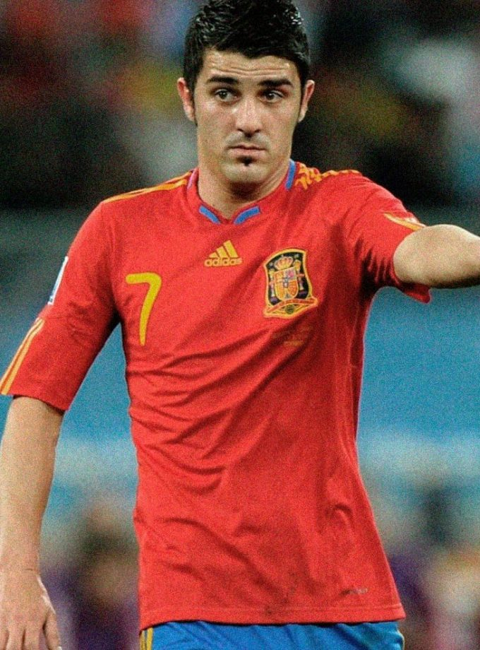 Jersey Retro Futbol España 1998 Local S - David Villa