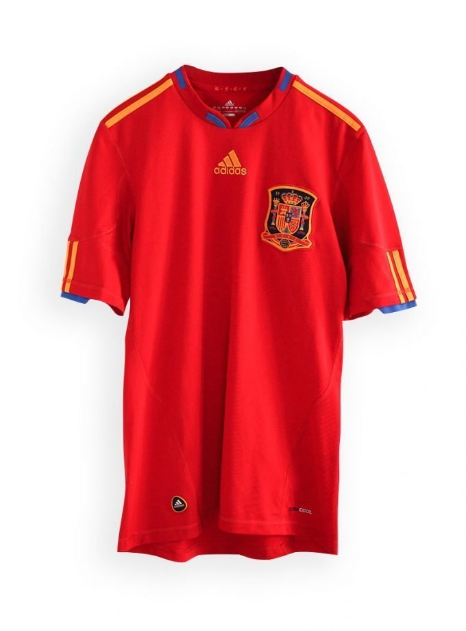 Jersey Retro Futbol España 1998 Local S